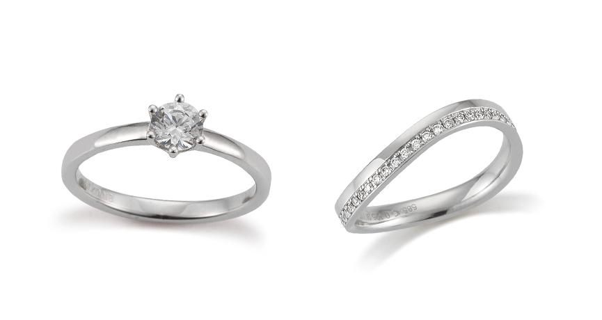 Der Verlobungsring hat häufig einen hochwertigen Stein eingesetzt.